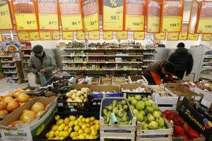 Embargo pasekmės: Rusija per metus sunaikino beveik 8 tūkst. tonų maisto