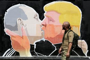 D. Trumpas planuoja susitikimą su V. Putinu