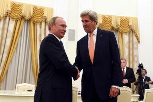 JAV siūlo Rusijai bendradarbiauti gelbstint Siriją