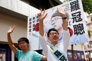 Pekinas: griežtai nepritariame jokiai veiklai dėl Honkongo nepriklausomybės