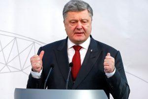 Ukrainos prezidentas: iš kalėjimo paleistas karys kiborgas