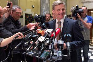 Naujosios Zelandijos premjeru taps B. Englishas?