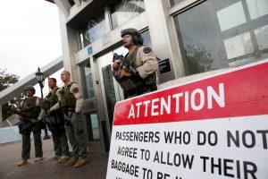 Pranešimas apie bombą Los Andžele buvo melagingas