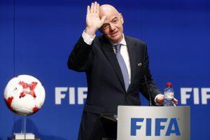 Pasaulio futbolo čempionate Europa reikalauja 16 vietų