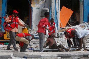 Mirtininko išpuolis Somalyje: per sprogimą žuvo mažiausiai šeši žmonės