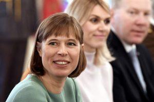 Estijos prezidentė: Baltijos šalys nelaiko Rusijos grėsme