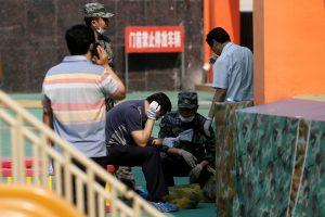 Kinijos vaikų darželyje susprogdinta savadarbė bomba