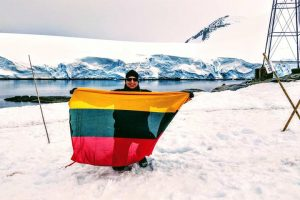 Linkėjimai švenčių proga – iš tolimosios Arkties
