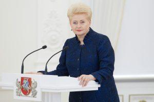 Apklausa: įtakingiausia Lietuvos politikė – prezidentė