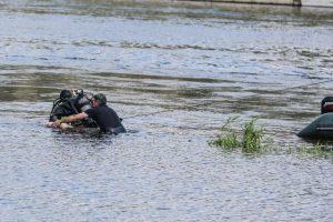 Skaudi nelaimė Lazdijų rajone: ežere nuskendo ugniagesys