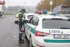 Policijos reidas Klaipėdoje ir rajone: medžiotojas liko be šautuvo