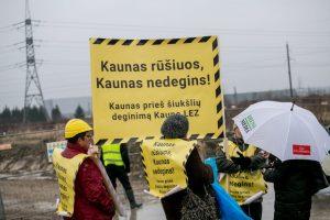 Atliekų deginimo jėgainės statybų pradžia – skandalinga