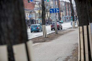 Žaliakalnio gatvėse – nauja eismo tvarka