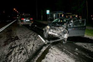 Per avariją T. Masiulio g. sužaloti trys žmonės