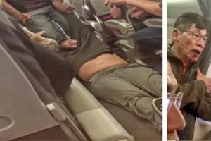 Dėl išpuolio prieš keleivį JAV aviakompanija gražins pinigus