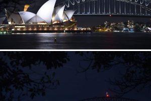 """""""Žemės valanda"""": užtemo Sidnėjaus šviesos"""