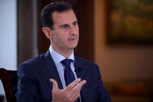 B. Assadas: Rusija niekada nekalbėjo apie valdžios perdavimą