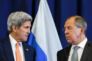 JAV ir Rusija svaidėsi žaibais dėl Sirijos