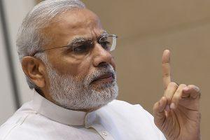 Indijos premjerui grasinantį laišką atnešė balandis