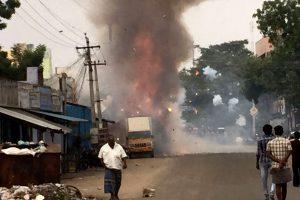 Indijoje sprogo nelegali fejerverkų gamykla: penki žmonės žuvo