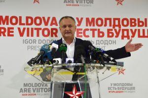 I. Dodonas skelbia laimėjęs Moldovos prezidento rinkimus