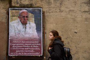 Italijoje ieškoma, kas sukritikavo popiežių