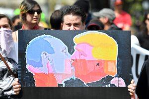V. Putinas dėl informacijos apie D. Trumpą: tai eilinė nesąmonė