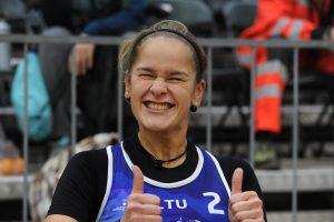 Tinklininkės V. Vitkauskaitė ir U. Andriukaitytė Slovėnijoje žengė į pusfinalį