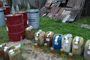 Už 1,5 tonos nelegalaus dyzelino šiauliečiui gresia solidi bauda