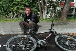 Dar nespėjus parašyti pareiškimo, dviračių vagys buvo sulaikyti