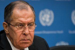 """S. Lavrovas: Rusija turi """"raudonąsias linijas"""" ir Vakarai privalo jas gerbti"""