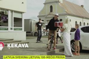 Šventiniame Latvijos sveikinime – Baltijos šalių vienybė