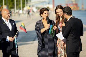 """I. Zasimauskaitė per """"Eurovizijos"""" atidarymą: tikiu stebuklais"""
