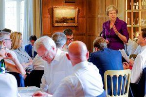 """Britų ministrų kabinetas suderino strategiją dėl """"Brexit"""""""