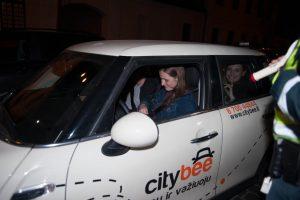 Naktinis reidas Kaune: vairuotojai – blaivūs, bet be saugos diržų