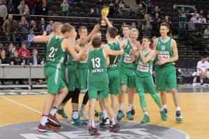 """Jaunieji """"Žalgirio"""" talentai kovos Europos turnyro finale"""