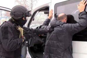 Rusija areštavo dešimt įtariamų teroristų