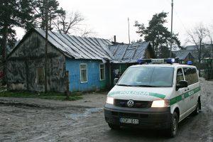 Policijai įkliuvo vagystėmis kaltinamas čigonas