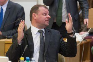 Premjeras apie urėdijas: reforma parodys koalicijos tvirtumą