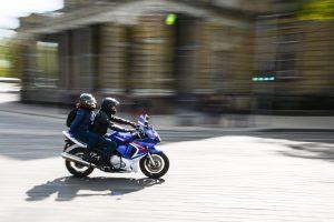 Per avariją Mažeikiuose sužalotas motociklininkas