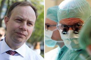 A. Veryga apie medikų algų kėlimą: sveikatos įstaigos pinigus turės užsidirbti