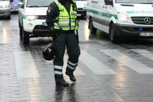 Pėsčiųjų perėja ėjusį nepilnametį Lazdijų rajone kliudė pareigūnas