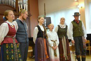 Šeimos dienos proga – muzikuojančių šeimų sveikinimai