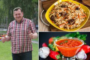 Charakteringi G. Maciulevičiaus vaidmenys virtuvėje (receptai)