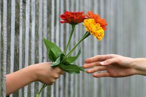 Gėlės per pirmą pasimatymą – rizikinga?