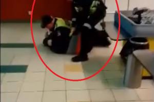 Ministro reakcija į pareigūnų veiksmus prieš sulaikytąjį: policijos tai nepuošia