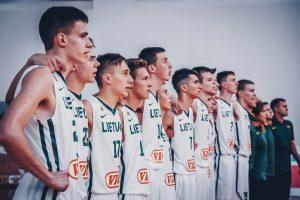 Lietuvos 16-mečiai Europos čempionato grupių etapą baigė pergalingai