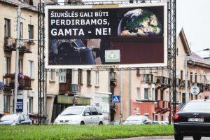 Kaune – dar daugiau reklamos