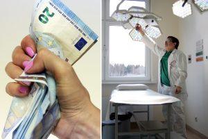 Medikų algų didėjimą gaubia migla: valdžia sukčiauja?