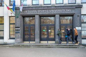 Sporto universitetas stabdo derybas su LSMU